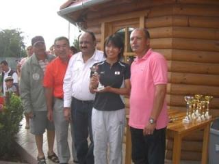 09年06ハンガリー大会シングル女子2位