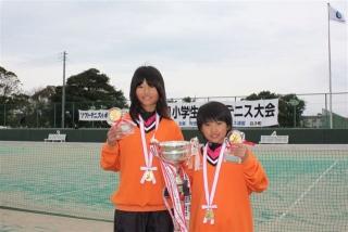 第8回全国小学生ソフトテニス大会優勝者(小4女子)