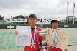 第8回全国小学生ソフトテニス大会優勝者(小5男子)