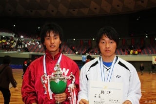 54回全日本インドア選手権大会優勝者(男子)