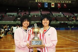 54回全日本インドア選手権大会優勝者(女子)