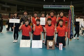 第34回全日本高等学校選抜ソフトテニス大会優勝者(女子)