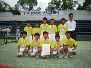 第26回全日本小学生男子団体3位-2