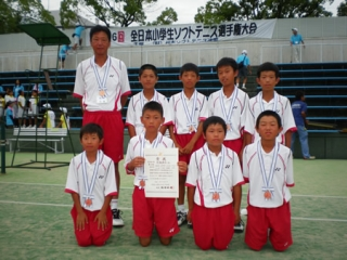 第26回全日本小学生男子団体3位-1
