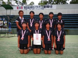 第26回全日本小学生女子団体3位-2