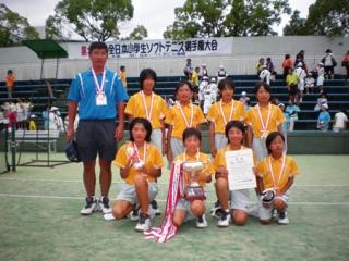 第26回全日本小学生女子団体優勝
